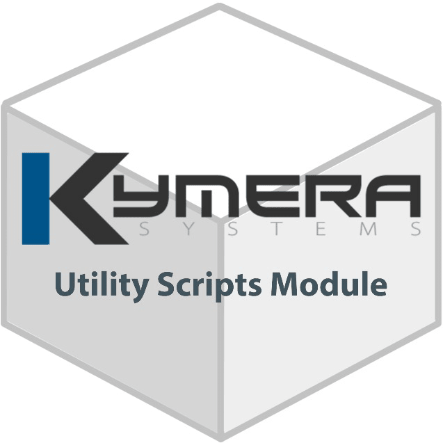 Kymera Cube Utility Scripts Module